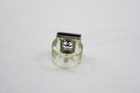 Chanel Chanel Crystal and Lucite Cocktail Ring