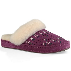 UGG Australia New With Tags Purple Passion Mules