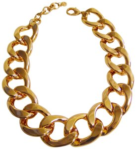 """R.J. Graziano HSN R. J. Graziano High Polish Rosetone 16"""" Bold Oval Chain-Link Necklace with 3"""" Extender"""