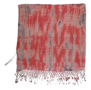 Gypsy Junkies Tie Dye Macrame Fringe Scarf by Gypsy Junkies $98