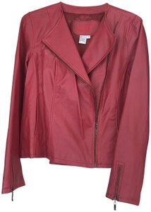 Live A Little Red Leather Jacket