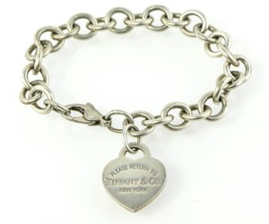 Tiffany & Co. Tiffany & Co Heart Tag Chain Bracelet