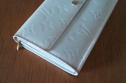 Louis Vuitton Vernis Sarah Clutch Purse ID Checkbook Credit Card Cash Coin Currency Image 5