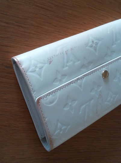 Louis Vuitton Vernis Sarah Clutch Purse ID Checkbook Credit Card Cash Coin Currency Image 6