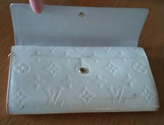 Louis Vuitton Vernis Sarah Clutch Purse ID Checkbook Credit Card Cash Coin Currency Image 2