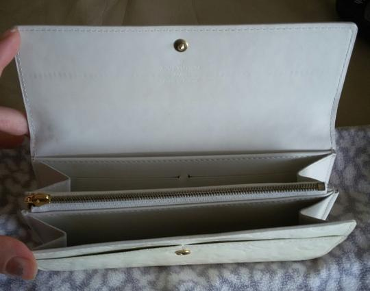 Louis Vuitton Vernis Sarah Clutch Purse ID Checkbook Credit Card Cash Coin Currency Image 3
