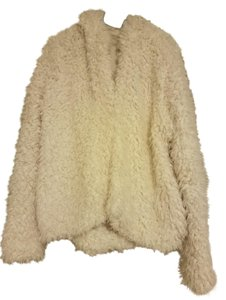 Free People Chunky Fuzzy Fur Coat