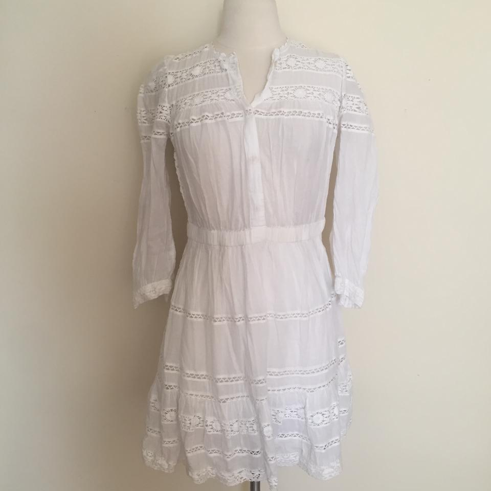 4f938a87a9 toile Isabel Marant short dress White Great Boho Cotton on Tradesy Image 8.  123456789