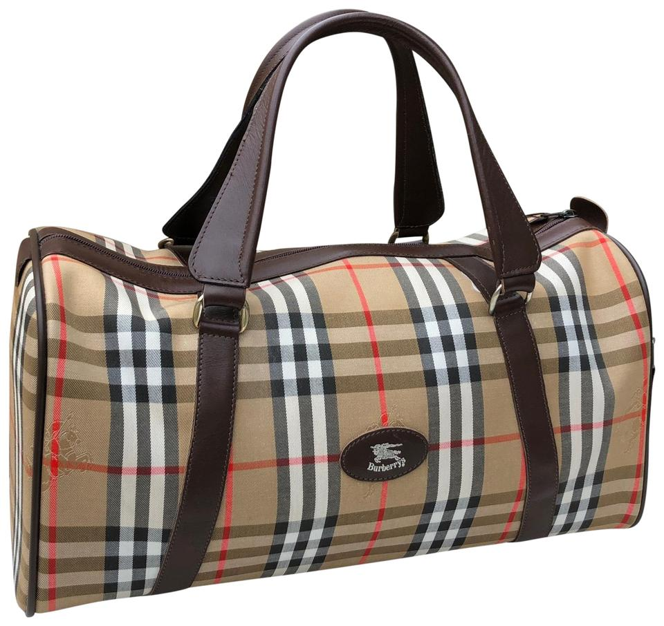 1a02ad2749d8 Burberry Weekend Travel Bag - Tradesy