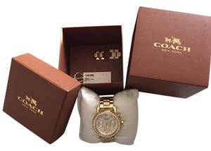 Coach Coach Gold Watch