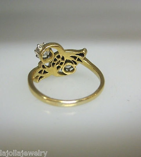 Other 18k,Yellow,Gold,Old,European,Rose,Cut,12,Ct,Diamond,Ladies,Ring,Size,6.25