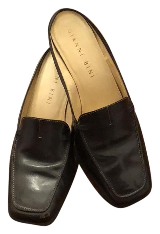 ladies Gianni Bini Black the Mules/Slides Special promotions at the Black end of the year 296125