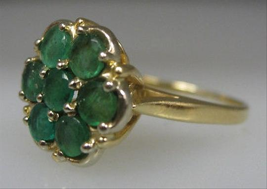 Other 14k,Yellow,Gold,Ladies,Emerald,Ring,,