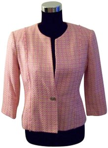 Sag Harbor Pink/Orange/White Blazer