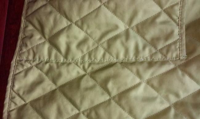 Burberry London Quilted Nova Check Lime green Jacket Image 8