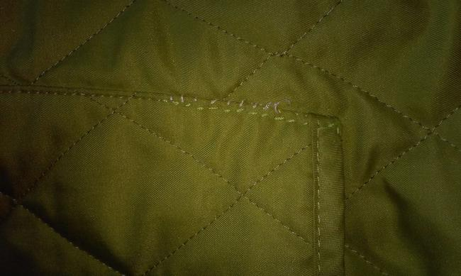 Burberry London Quilted Nova Check Lime green Jacket Image 9