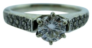 14k,White,Gold,Diamond,12ct.,Ladies,Ring,,