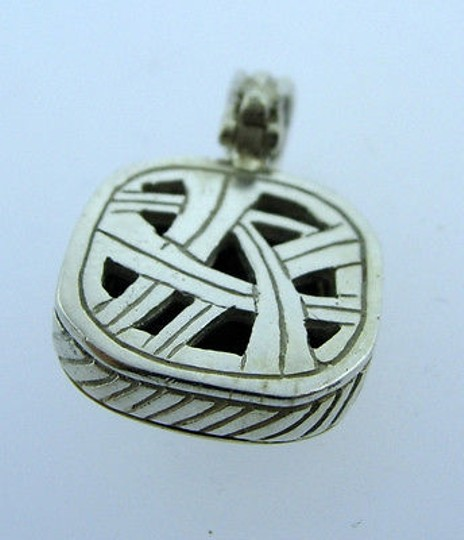 Other Sterling,Silver,14k,Yellow,Gold,Onyx,Pendant,Charm,Necklace,