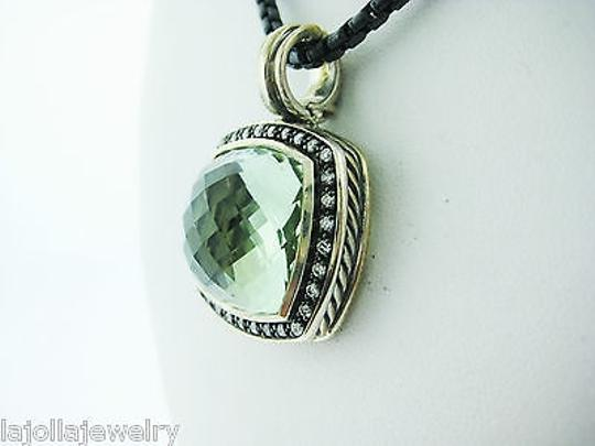 Other David,Yurman,Sterling,Silver,Moonlight,Ice,Albion,Prasiolite,Necklace,17mm,