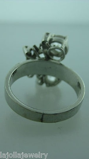 Other 14k,White,Gold,Rose,Cut,Diamonds,Ladies,Ring,Size,5.5
