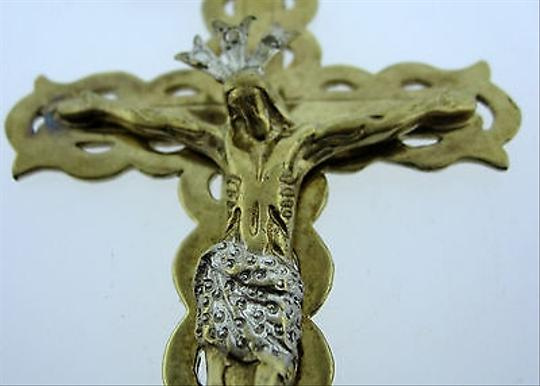 Other Fine,Estate,10k,Yellow,Gold,Jesus,Cross,Pendant