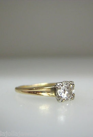 Other 14k,Yellow,Gold,Old,Mine,Cut,Diamond,Ladies,Ring,,