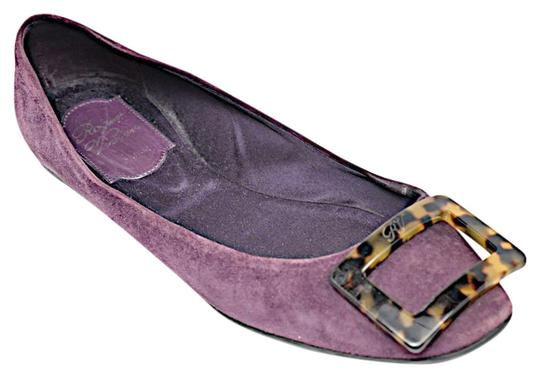 Preload https://img-static.tradesy.com/item/22755075/roger-vivier-purple-suede-with-tortoise-signature-buckle-flats-size-eu-37-approx-us-7-regular-m-b-0-1-540-540.jpg