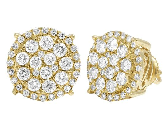 Preload https://img-static.tradesy.com/item/22755121/jewelry-unlimited-14k-yellow-gold-round-cluster-halo-diamond-stud-13mm-2ct-earrings-0-0-540-540.jpg