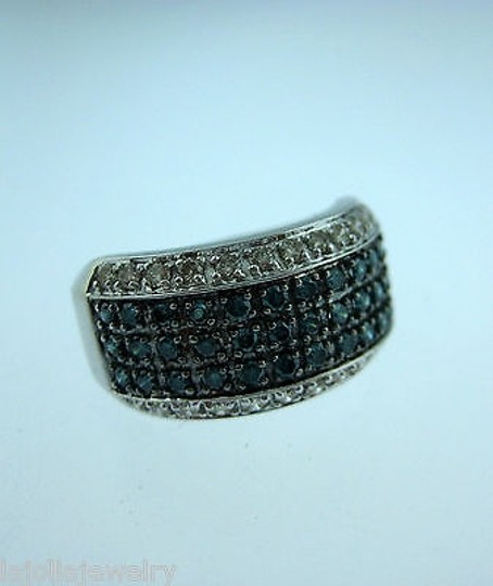 Other 10k,White,Gold,Blue,Diamonds,Ladies,Ring,,