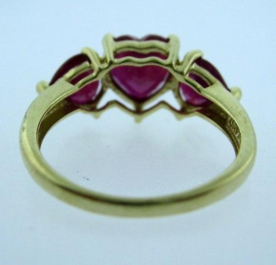 Other 10k,Yellow,Gold,Ladies,Red,Stone,Ring,Size,6.5