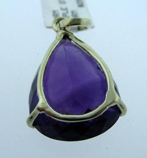 Other Sterling,Silver,Large,Amethyst,Pendant,Necklace,Charm