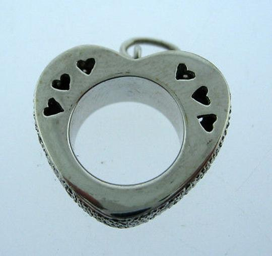 Other 18k,White,Gold,Heart,Diamond,Pendant,Charm,Necklace,Love