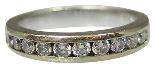 Preload https://item2.tradesy.com/images/14k-white-gold-diamond-band-ladies-ring-2275526-0-0.jpg?width=440&height=440