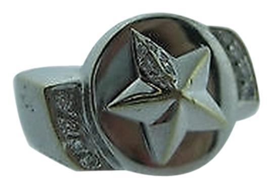 Other 18k,White,Gold,Star,Diamonds,Small,Ladies,Ring,Size,2.75