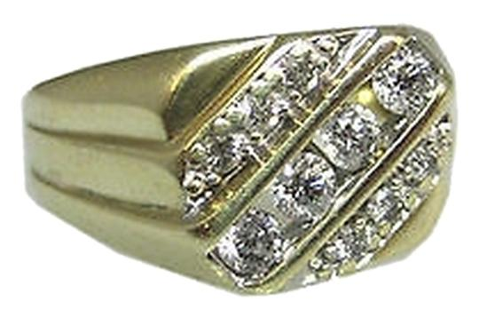 Other Fine,Estate,Vintage,10k,Yellow,Gold,Diamonds,Diamond,Mens,Ring,,