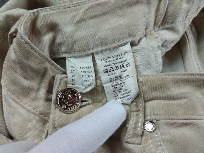 Louis Vuitton 26/30 Skinny Pants Italy Straight Leg Jeans Image 7