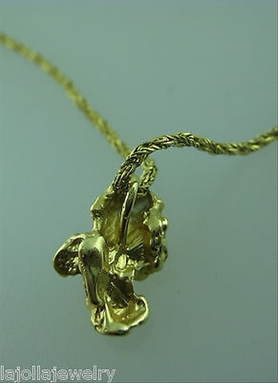 Other Fine,Estate,14k,Yellow,Gold,Chain,W,Nugget,Necklace,