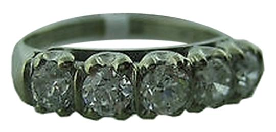 Preload https://item3.tradesy.com/images/14k-white-gold-1ct-diamond-band-ladies-ring-2275547-0-0.jpg?width=440&height=440