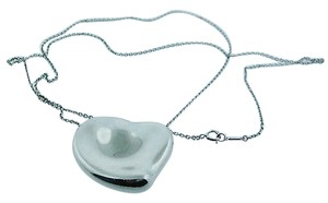 Other Tiffany,Co,Sterling,Silver,925,Elsa,Peretti,Large,Heart,Necklace,Pendant