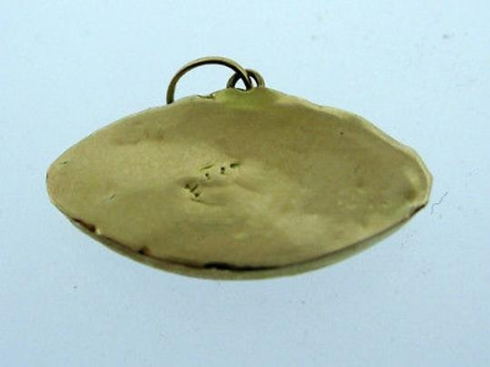 Other 14k,Yellow,Gold,Blue,Eye,Pendant,Charm,Necklace,