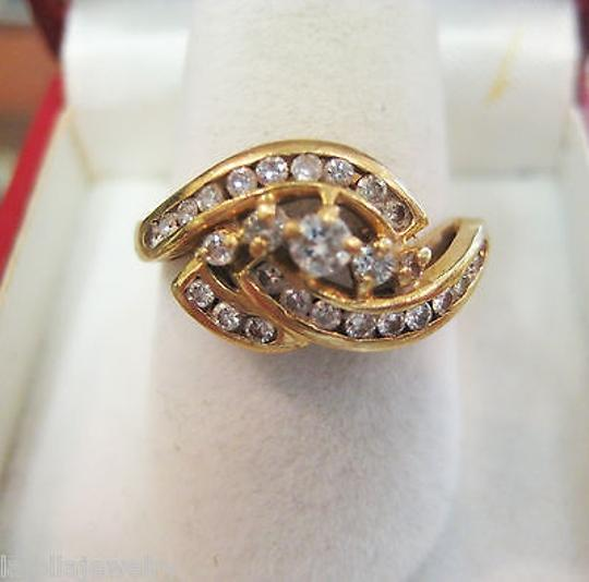 Other 14k,Yellow,Gold,Diamond,Ladies,Ring,,