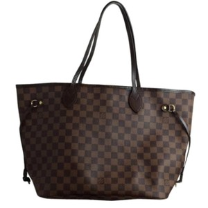 Louis Vuitton Tote in dark and light brown