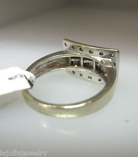Other 14k,White,Gold,Baguettes,Diamonds,Ladies,Ring,