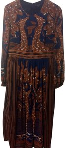 Blue and brown Maxi Dress by Floryday