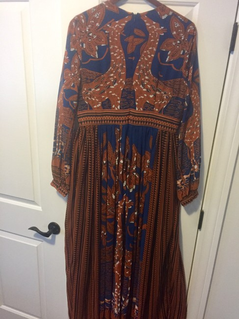 Blue and brown Maxi Dress by Floryday Image 1