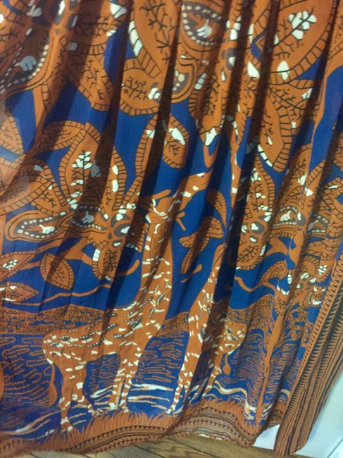 Blue and brown Maxi Dress by Floryday Image 3