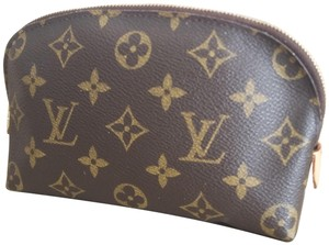 Louis Vuitton Samsung iPhone Cell Phone iTune Apple Android Brown Monogram Clutch