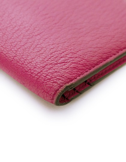 7002dc45a826 Hermès Hermes Rose Tyrien Chevre Mysore Leather Bearn Wallet with Box Image  4