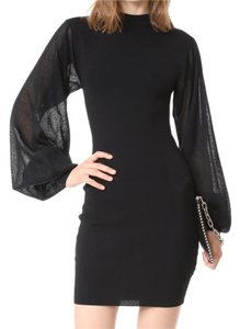Keepsake the Label Longsleeve Batwing Dolman Cuff Sleeve Dress