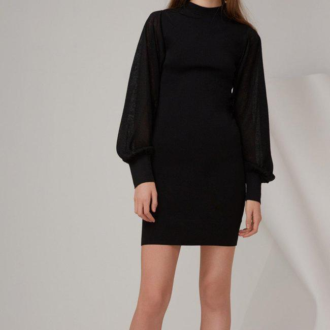 Keepsake the Label Longsleeve Batwing Dolman Cuff Sleeve Dress Image 3